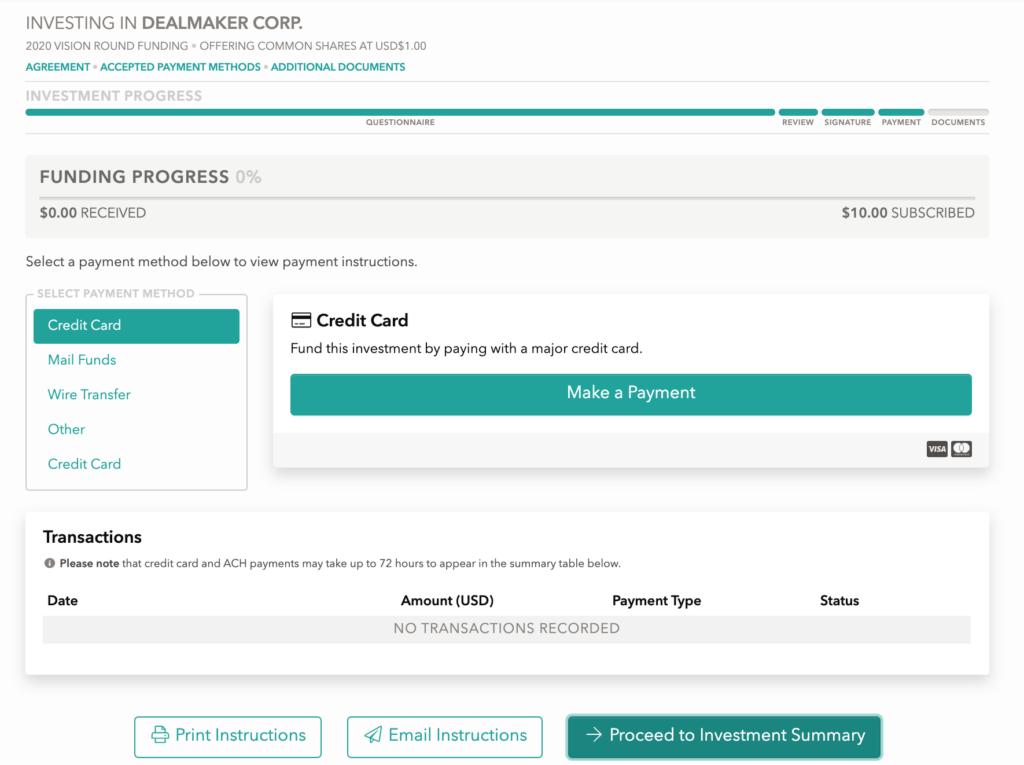 Dealmaker - Ruby application screenshot